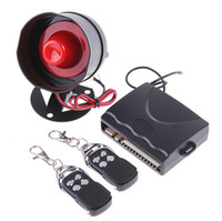 alarm systems uk - 1 Way Car Alarm Protection Security System Keyless Entry Siren Remote Control UK K408