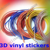Stickers auto parts products - XYA42 Decorative thread sticker indoor pater car body decals tags auto car products parts accessory Focus K2