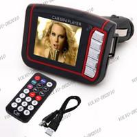 Wholesale LLFA182 New LCD Car MP3 MP4 quot Player FM Transmitter SD MMC