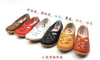 Wholesale Special offer comfortable leather Mother sandal shoe nurse shoes female flat shoes