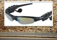 Wholesale Sunglasses Bluetooth Headset Sunglass Stereo Bluetooth Headphone Handsfree Black Hot selling