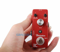 Wholesale Eno EX Micro DS High Gain Classic Distortion Guitar Effect Pedal with Powerful Mid Frequency Compact Crunch Box Crunchbox Cruncher New