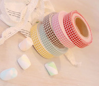 Wholesale Korean version of the pastoral style multi purpose cloth tape DIY decorative tape variety