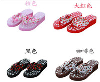 Wholesale the female Shisong cake cool slippers women slope with beach slippers