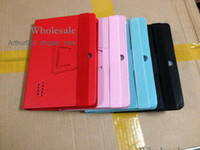 Wholesale High Quality Q88 Case Inch PU Leather Case Protect Skin Cover With Stand for quot Tablet PC Haipad Allwinner A13 Dual Camera