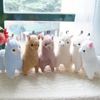 Wholesale Japanese Arpakasso animal horse amuse Genuine Sheep plush alpaca colors Soft Toy inch doll