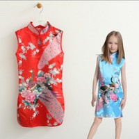 TuTu Summer Sheath up $199 Mix order EMS FEDEX to AU US UK FR NL CA robe Vintage China Phoenix girls dress girls clothes chinese baby clothing,13MAY102