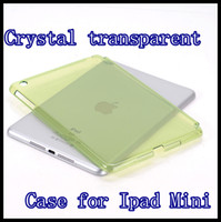 Protective Shell/Skin 7.9'' For Apple Cheap hard plastic Case for ipad mini Crystal transparent back shell for iPad Mini Tab 7.9'' PC back cover 8 color
