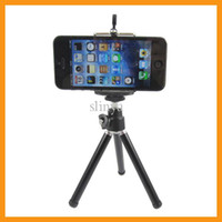 Wholesale Adjustable Tripod Mount Holder Cradle For Samsung Universal Bracket Silver And Black Color