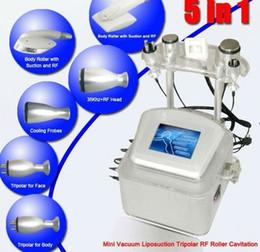Wholesale V8 Hot sale vacuum rf roller ultrasonic cavitation fat freezing body shaping machine weight loss