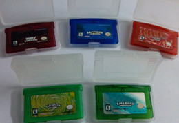 Wholesale Video Games for Gameboy GBA games Hottest poke Mon Mix order Custom order