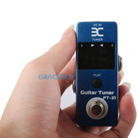 Wholesale Eno Music EX Micro PT Guitar Tuner Pedal Tuner Effect Compact Small Size For TC Electronics PolyTune True Bypass Brand New