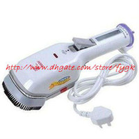 Wholesale bsteam iron brush rand new Portable electric Dry Steam Cleaning Clean Iron Brush mini iron hot C148