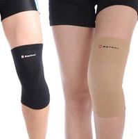 Wholesale 2pcs kneelet kneecap support canions Knee protector Pad genouillere elastic knee cap leg bandage Elastic Bandage for soprts
