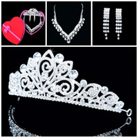 Rhinestone/Crystal Crown  Hot Sale promotion a lot 1 piece Tiaras Crystals Wedding accessories pearl hair pins