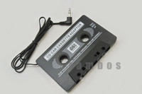 Wholesale 200pcs Car Cassette Tape Converter for iPod CD MD Mini MP3 Adapter