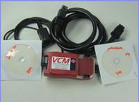 Wholesale HOT V75 V125 FORD IDS VCM Land Rover JAGUAR Ford Mazda Multi languages Ford VCM IDS free ship Y