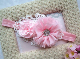 Wholesale Baby girls Headbands Anny baby headband lace mesh cloth with lovely flowers Headbands