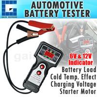 automotive battery voltage - E04 Digital Automotive Vehicular Auto Battery Tester with V and V Voltage Indicator
