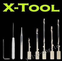 Wholesale in X Tool Unlock Case Opening Tool Kit for XBox Slim Open Unlocking Console set DK1782