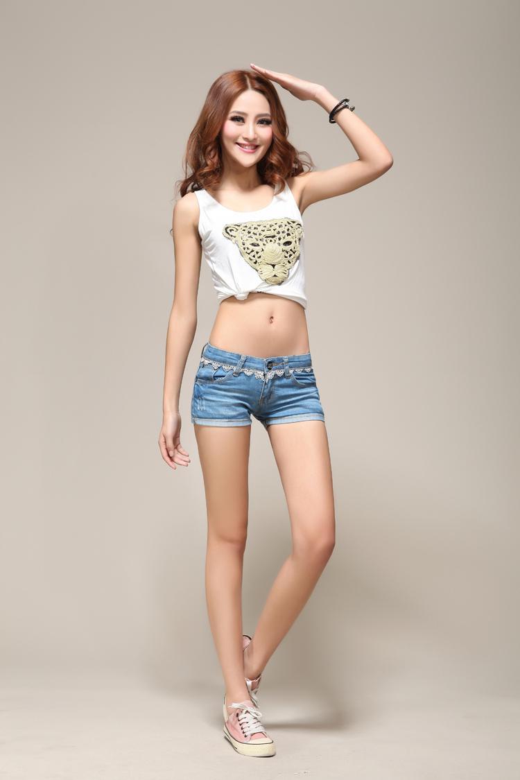 2013 2203# Promotion 2209 Fashion Lady Denim Shorts Women's Jeans ...