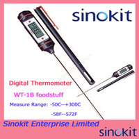 applied industries - Pen Styled Portable Digital Thermometer WT B with lengthened metal probe C applied to foodstuff industry