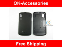 for ZTE   Original new battery cover battery door housing back cover for ZTE Skate V960 1pcs lot free shipping