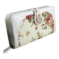 Wholesale S5Q Fashion Long Retro Buckle Purse Coin Wallet Handbag For Lady Women AAABLZ