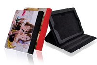 Wholesale For ipad G Leather DIY Sublimation case for ipad G
