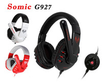 Wired bass sound effects - Somic G927 Sound Effect Gaming Headset Stereo Headphone Powerful Bass Earphone With MIC