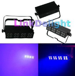 Wholesale Cheap pc American Dj light Uv Bar High Output Led Blacklight w Watt Led S DMX for theatre opera performance stage special effects