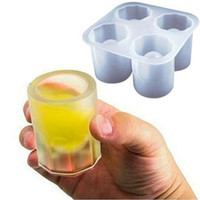 Wholesale Cool Shooters Shot Glass Mold Shot Glasses Made of Ice Novelty Gift Worldwide
