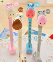 balls donkeys - New Kawaii donkey ball pen cartoon pen Ball point pen plastic pen Children Gift Fashion New