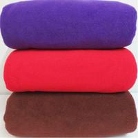 Wholesale microfiber bath towel g Increased adult bath towel beach towels polyester microfiber