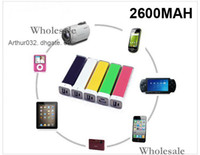 Wholesale Sexy Model mAh Mini Portable Lip Gloss Emergency Power Bank Universal External Charger BackUp for iPod iPhone S HTC i9300 S4