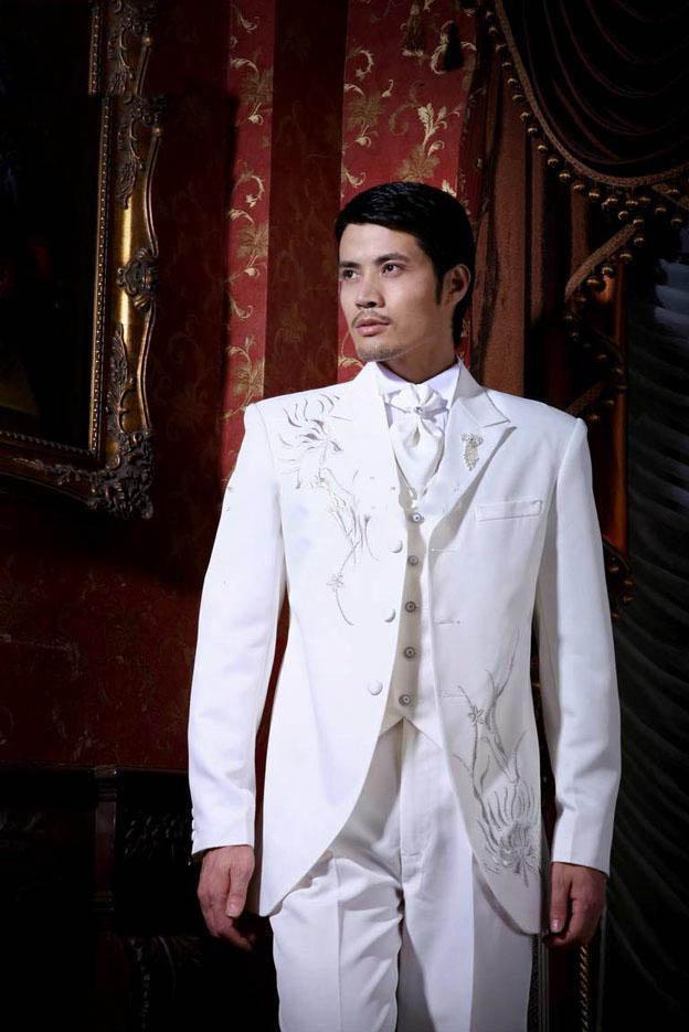 White Wedding Dress for Men – fashion dresses