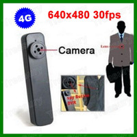 Wholesale 4GB Mini Hidden Spy Button Camera Buit in Memory Mini DV Camcorder Spy Video Spy Device