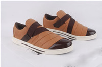 Buckle Strap Men Rubber Han edition British men casual shoes men's sneakers men shoes shoes, fashion shoes