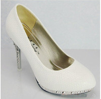 best almond - Best Selling New White Women s shoes High heeled Dress Shoes bride wedding shoes Wedding shoes Size