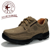 Wholesale New Spring fashion GUCIHEAVEN Mens casual shoes Hiking outdoor Designer Genuine Leather British low Sports cols
