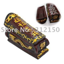 Wholesale coffin Type Hard Resin Tattoo Ink Cup caps Holder tattoo accessories