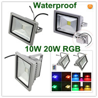 Wholesale Dropshipping Color W W RGB Flash Landscape Wash Lighting LED Floodlight led reflector Degrees Aluminum Body