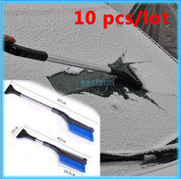 Wholesale Retractable Ice Scraper Snow Brush Shovel ABS Auto Vehicle Car Ice Snow Frost Remover Clean Tool