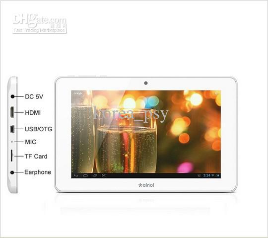 inol NOVO7 Crystal Quad Core Tablet PC android 4.1 Webcam 1GB RAM