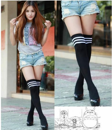 High short hot socks skirt girl