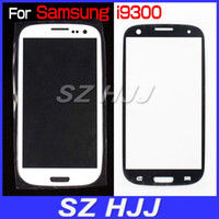 LCD Screen Front Lens Glass Cover White and Black For Samsun...