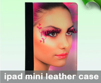 Wholesale For ipad mini Leather DIY Sublimation case for ipad mini