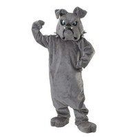 Wholesale Hot Bulldog Spike Mascot Adult Costume cartoon free size