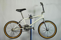 Wholesale School Linn Kastan BMX racing bike XL size white Uni Blade fork Redline