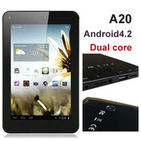 Wholesale 7 quot Q88 Pro Q99 Allwinner A20 Dual Core Tablet PC Android OS CORTEX A7 Ghz Dual Camera HDMI MB RAM GB